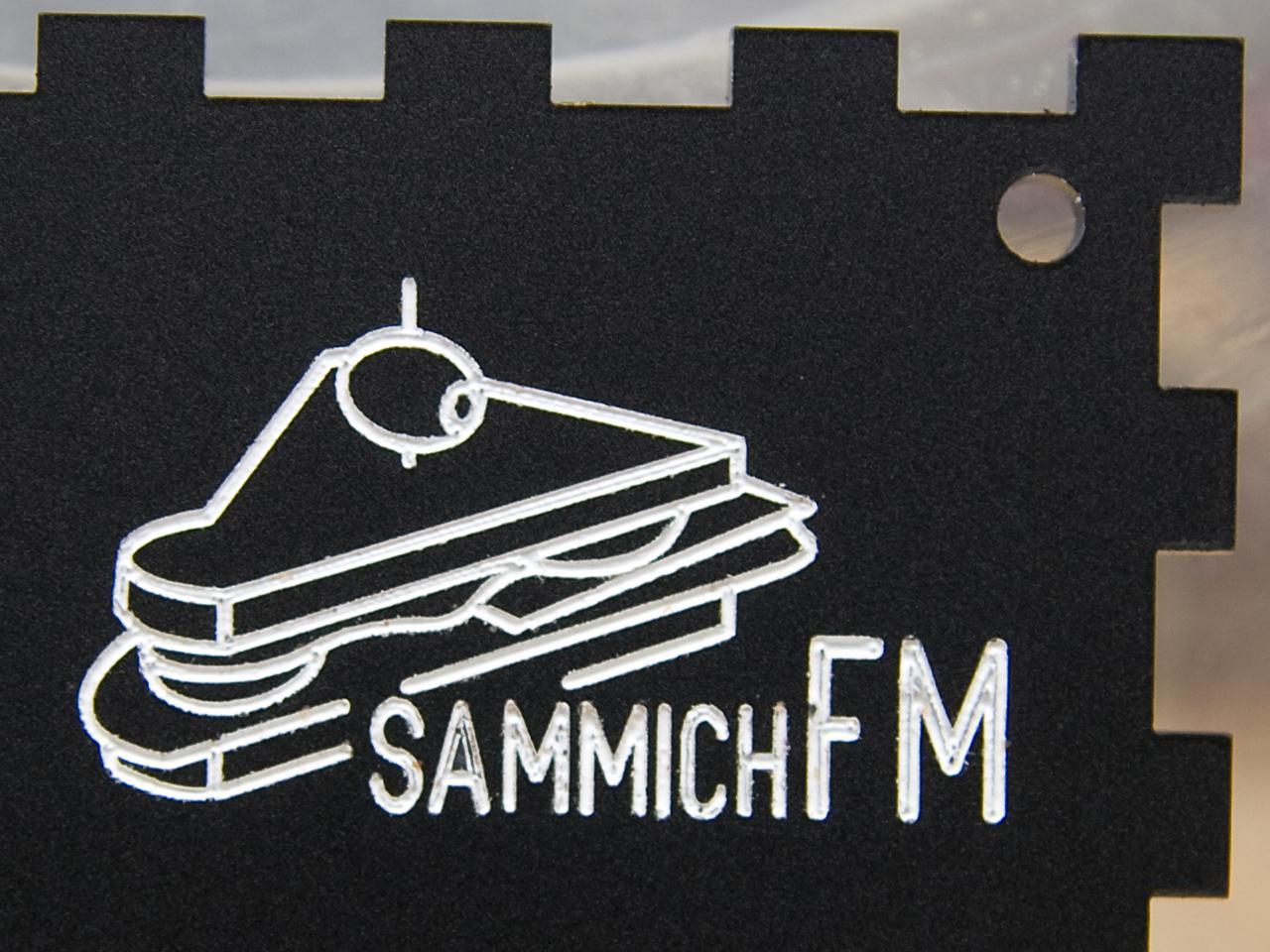 sammichFM enamel paint fill demo