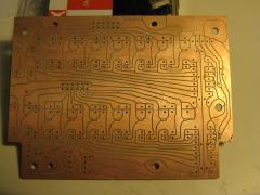 self-made Voronoi-CNC-milled PCB
