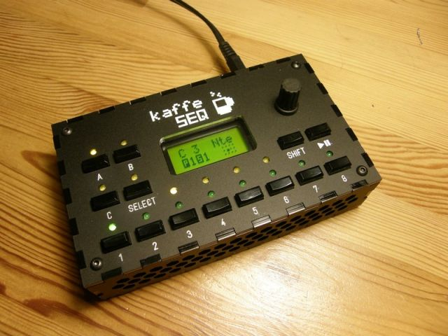 kaffeSEQ Prototype Evo III