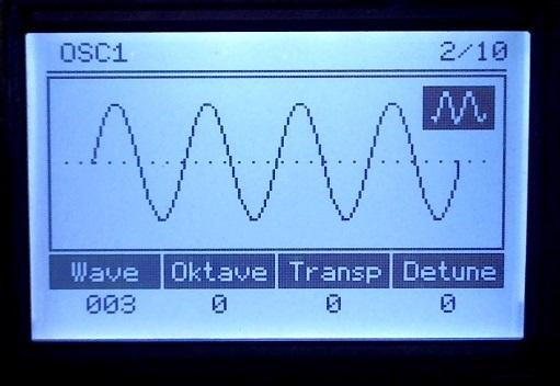 MiniScope in my AVR-Synthesizer