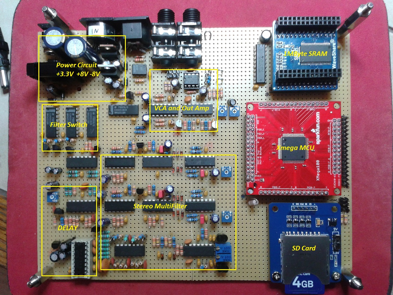 Mcu Board Diy Synthesizer Wavone Schematics And Pcbs Midibox Forum