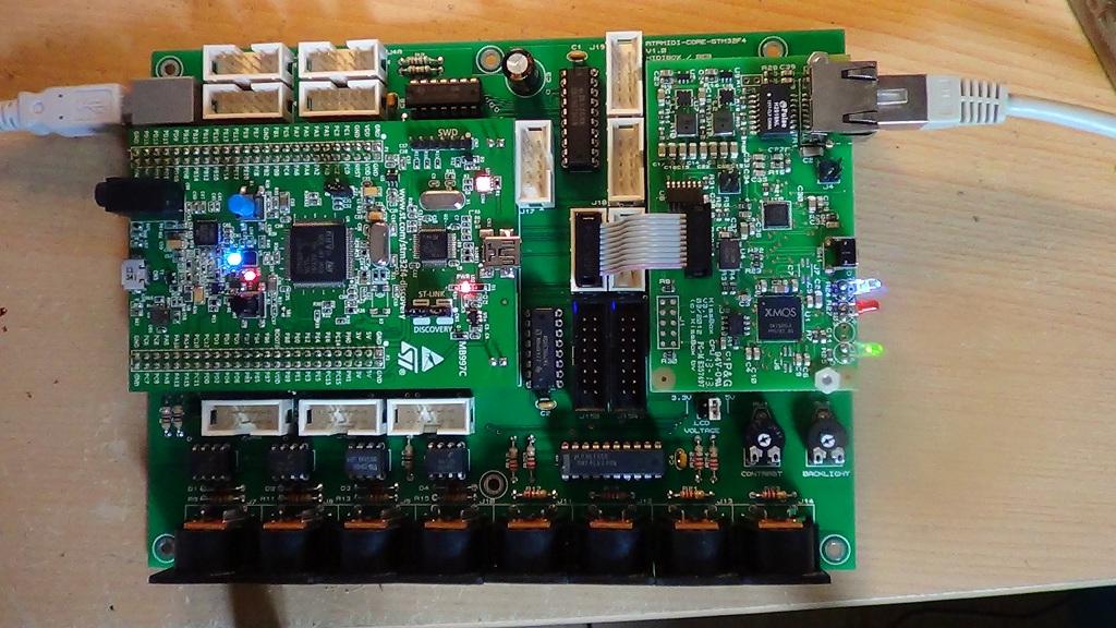 RTP-MIDI CORE STM32F4 - Members Gallery - MIDIbox Forum