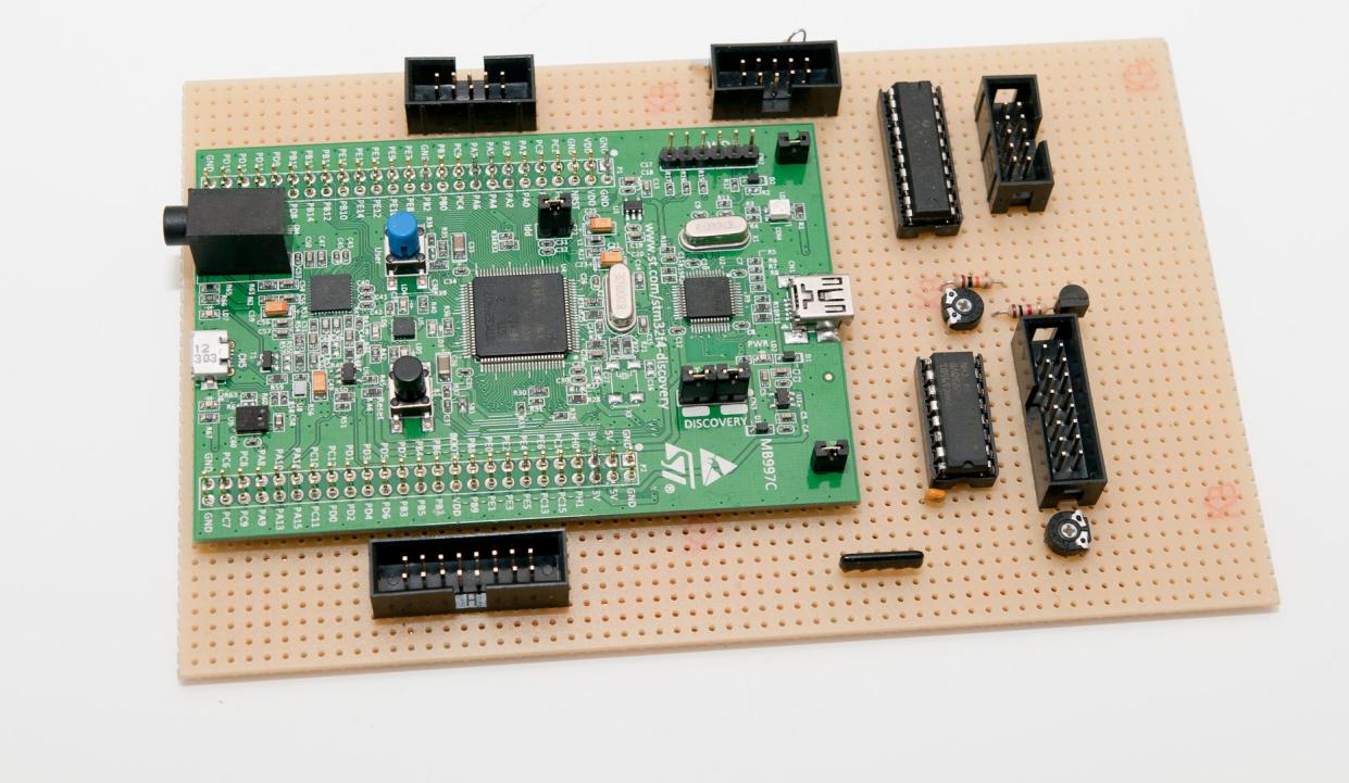 Simple STM32F4 core module