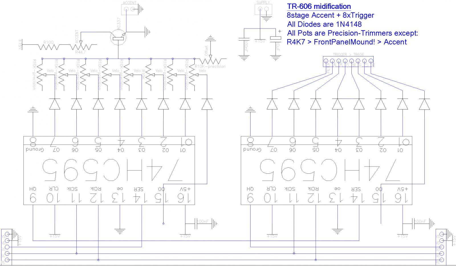 TR-606-Midification