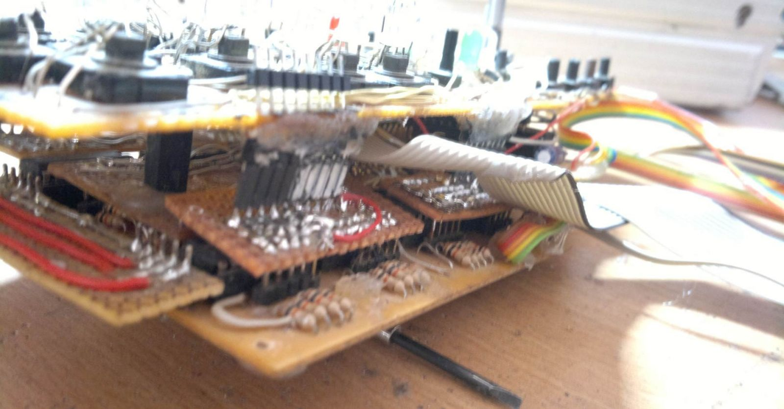 Control Board - 2x DinX4, 1x DoutX4 stacked