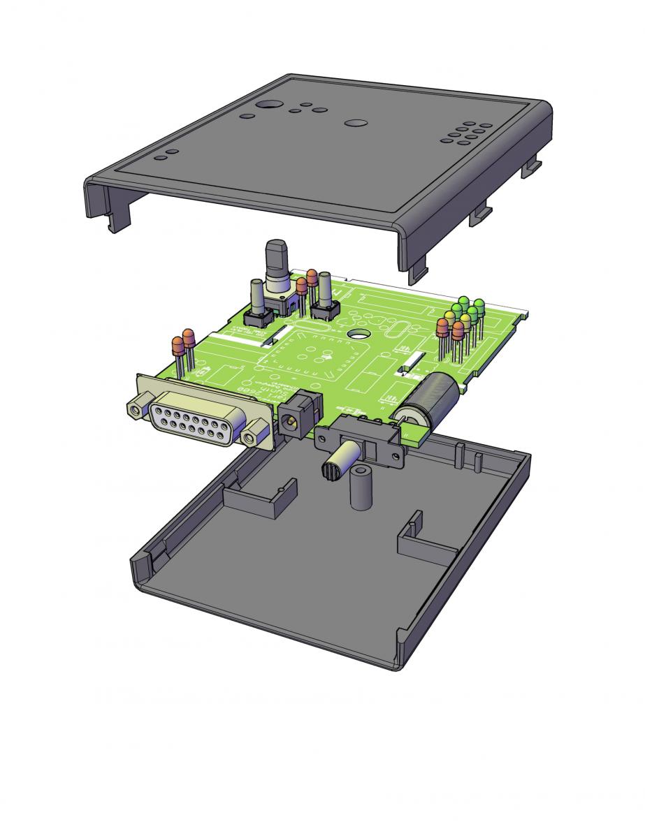 MB TIA Mecanical v1 PCB
