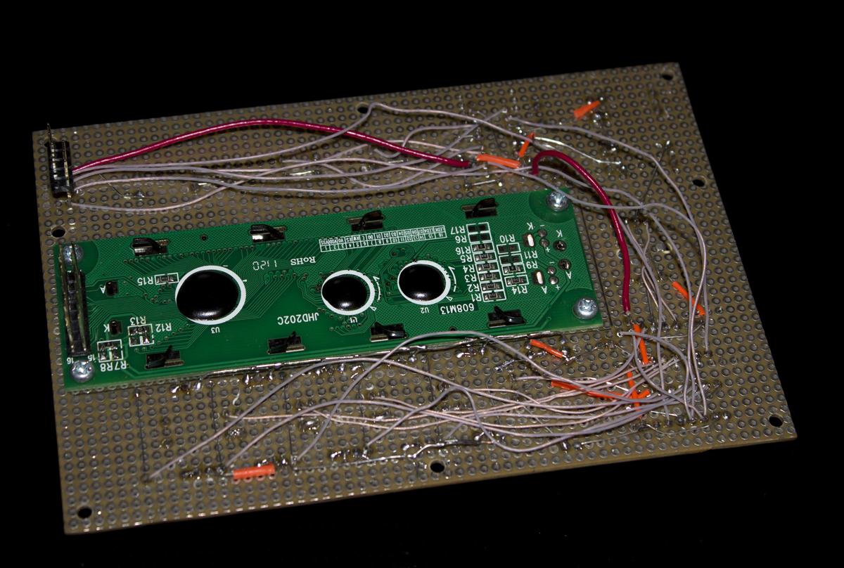 SammichFM perfoboard CS wiring