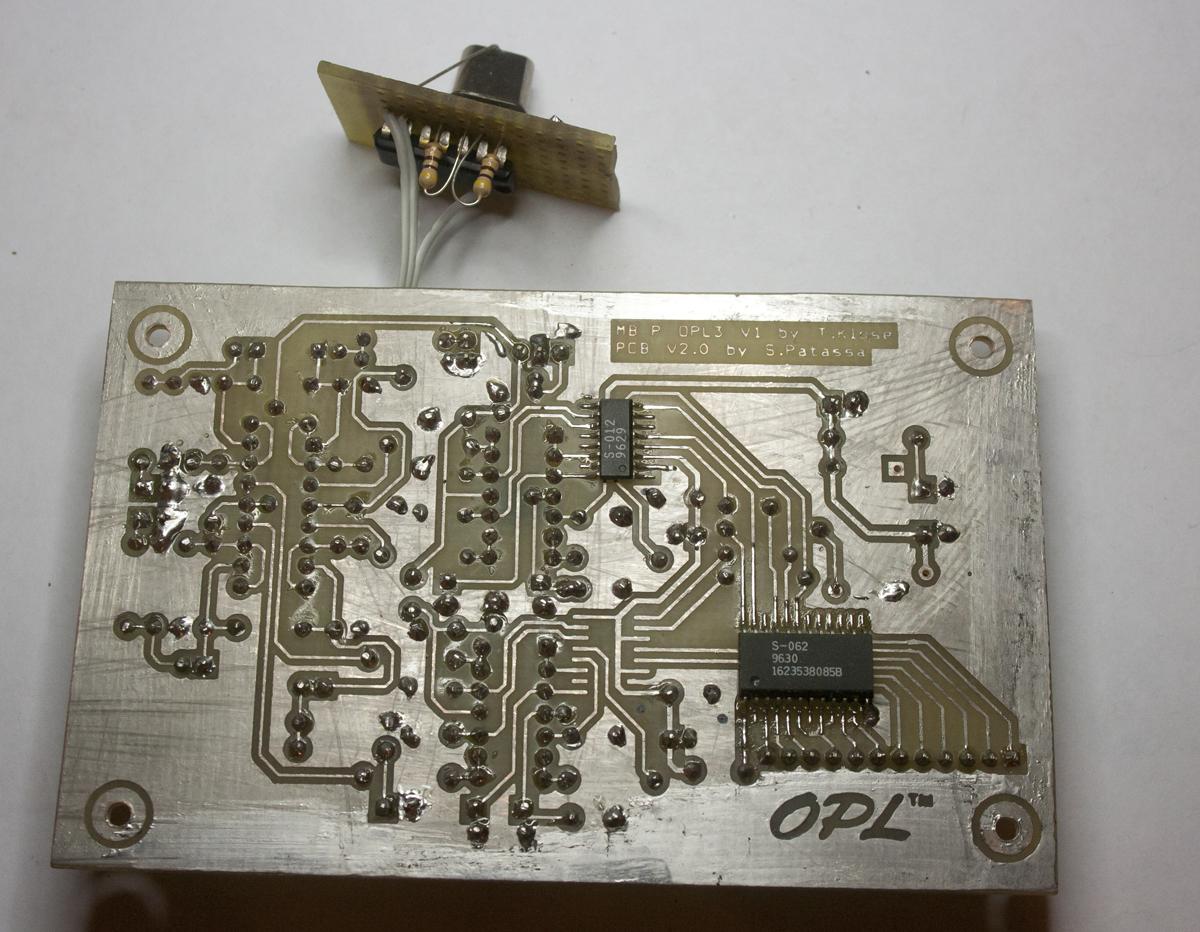 MBFM OPL3 board