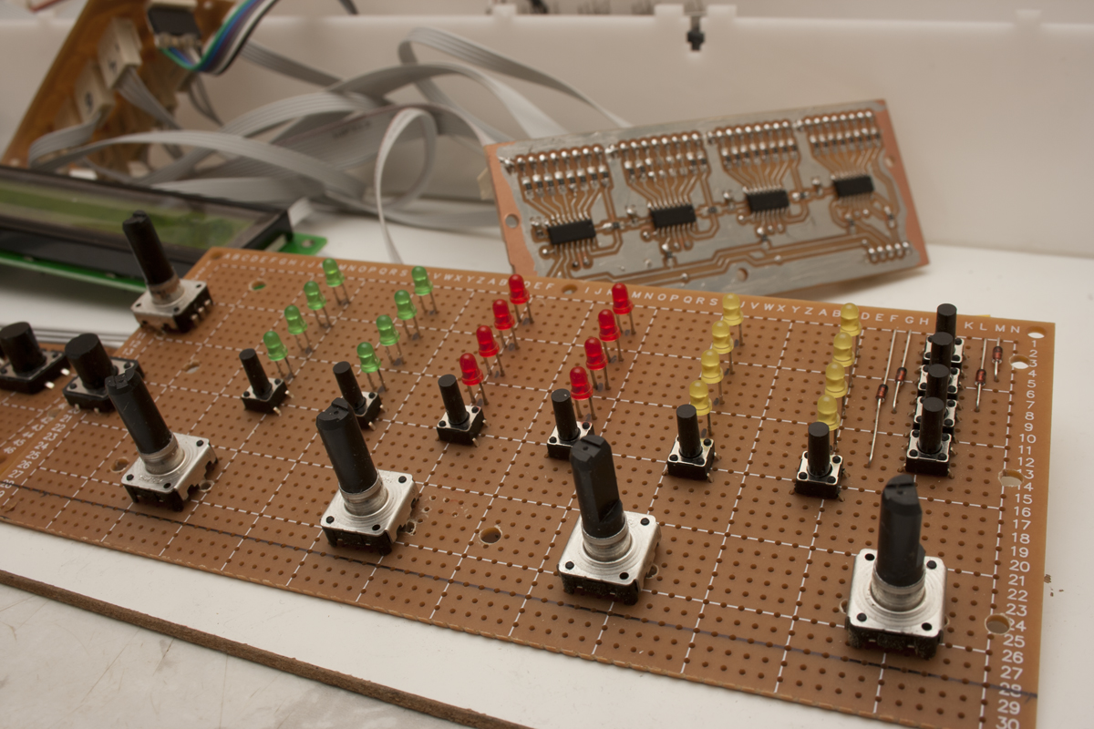 Midibox FM assembly