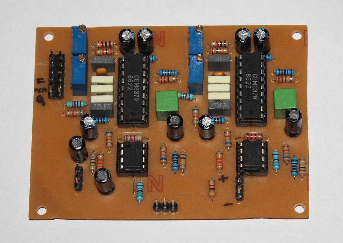 Stereo CEM3379 VCF/VCA for MBSID