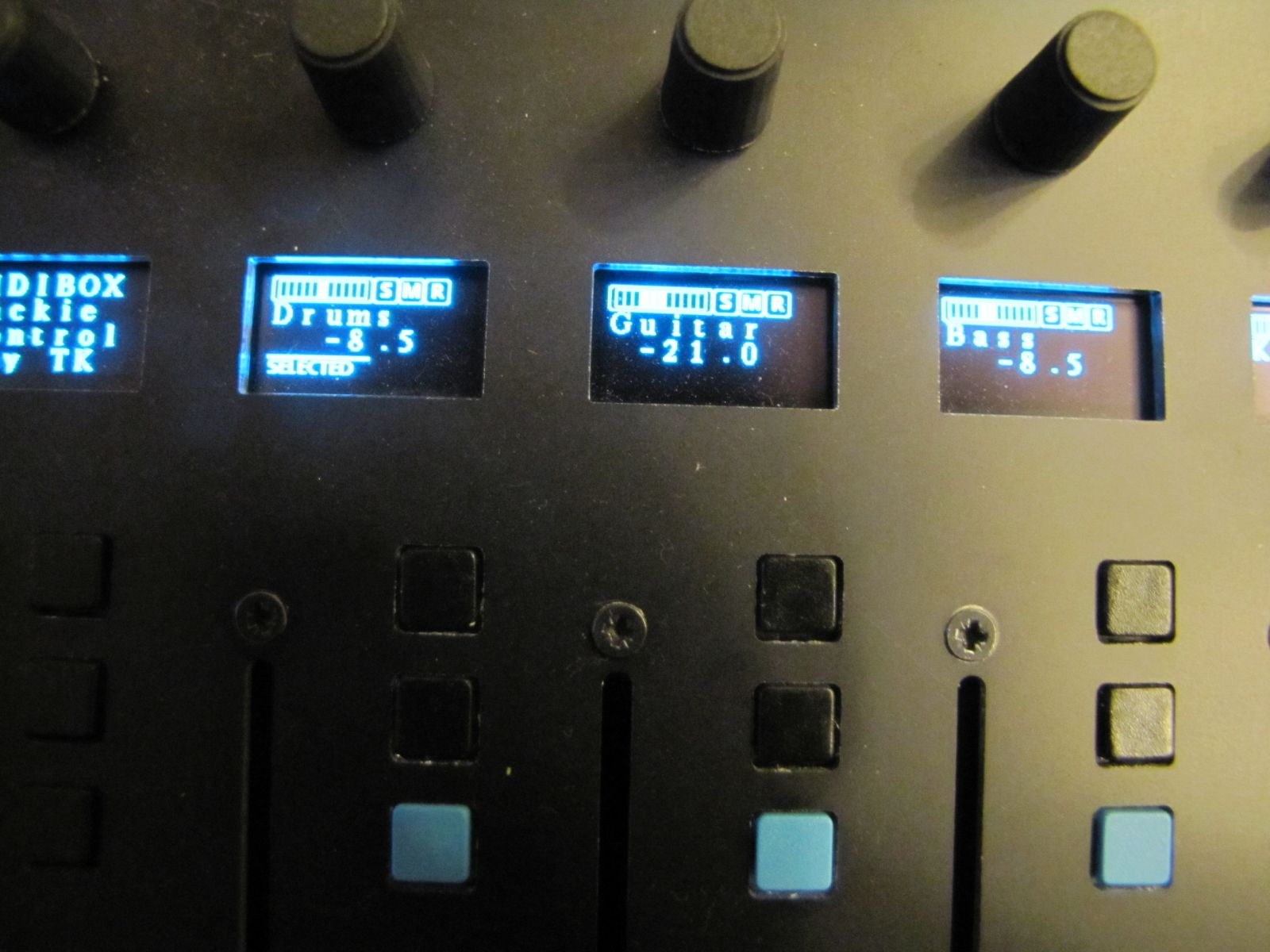 Mackie Control Clone by John E. Finster 2