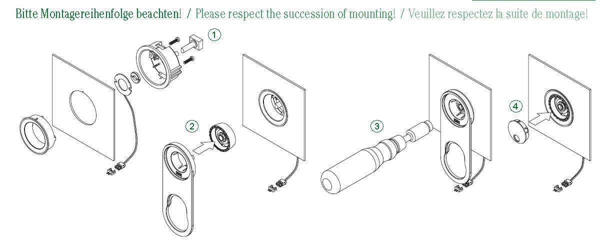 [JEFinster]star knob assembling