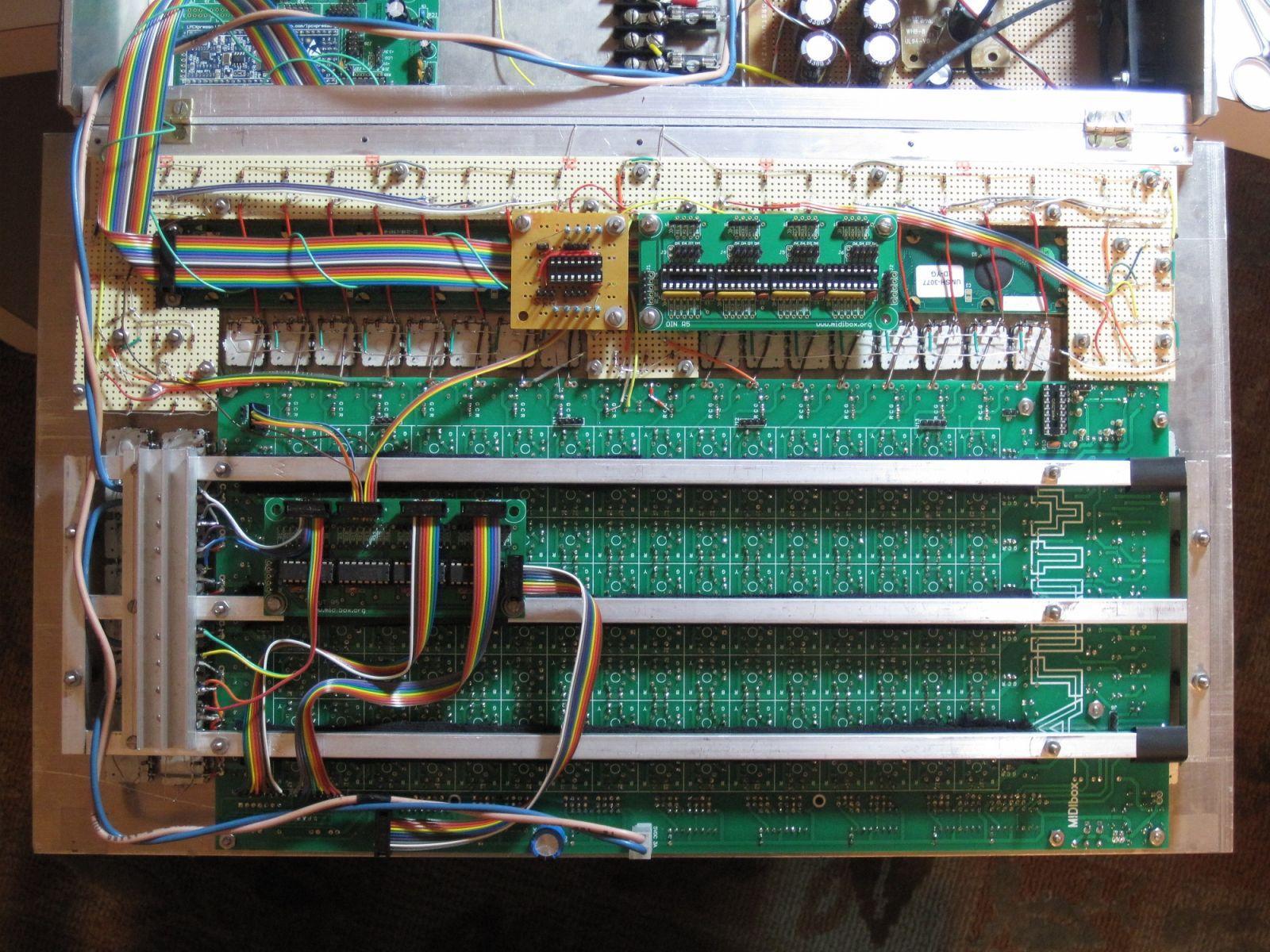 MIDIbox ASIDITY: Front Panel Back
