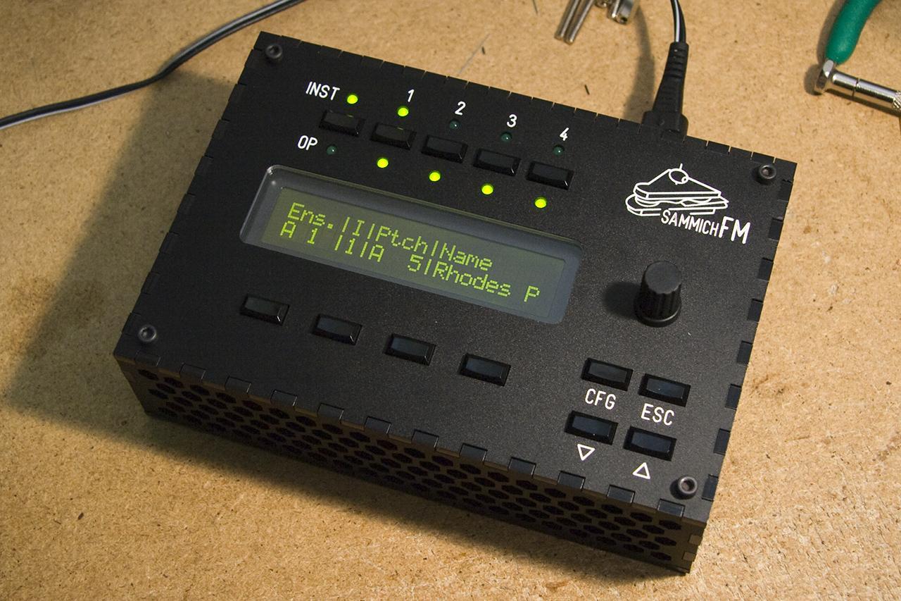 sammichFM prototype