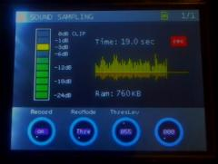 Sample Recording