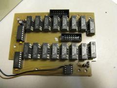 Distrobox PCB fully stuffed