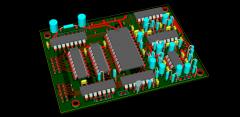 MBHP_Genesis Module Board (Draft) (3D Render)