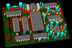 MBHP_Genesis Module (ver. 1b) Board 3D View