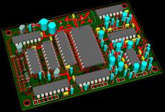 MBHP_Genesis Module Rev 1d - Board 3D View
