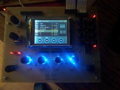 "Frontpanel from DIY Synthesizer ""DE:GENERATOR"""
