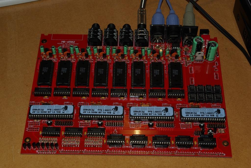 Completed MB-6582 Base Board