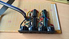 Quad I2C Midi-out for my Seq-4