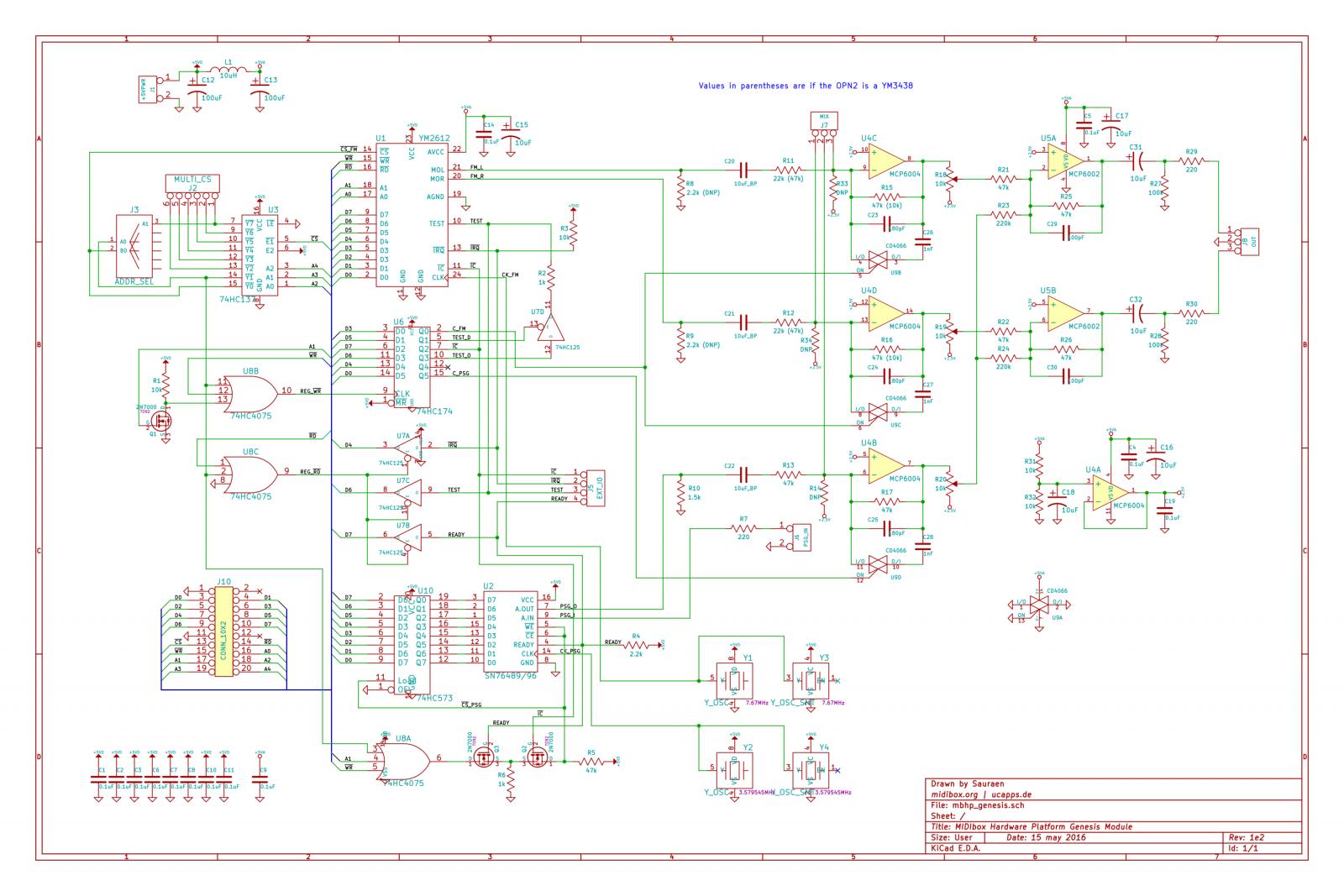 MBHP_Genesis Schematic rev. 1e2 (for use with rev. 1e boards)