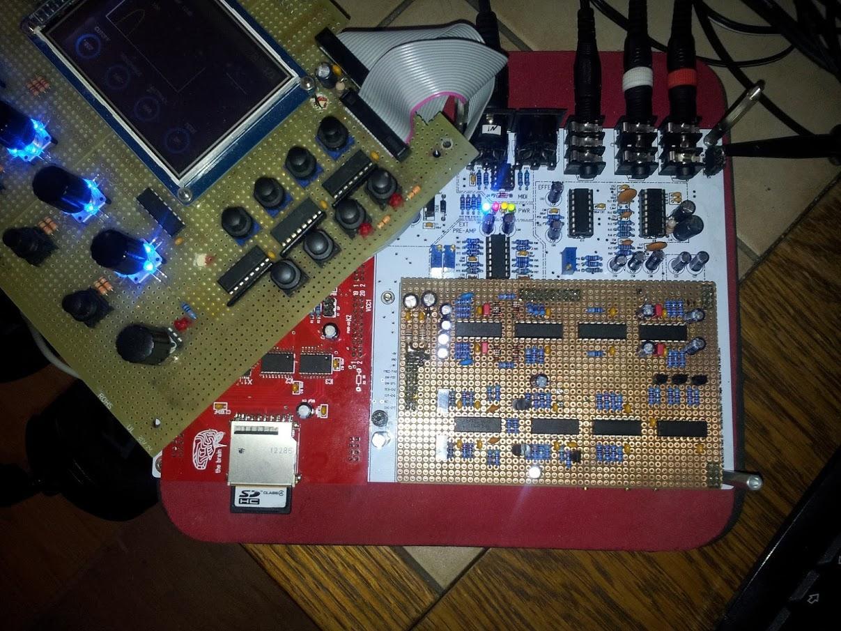 DEGENERATOR Motherboard, CPU-Board, Filterboard and Pannel-Board