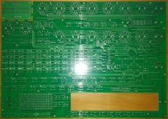 MIDIbox Quad Genesis Front Panel (MBQG_FP) PCB: Back