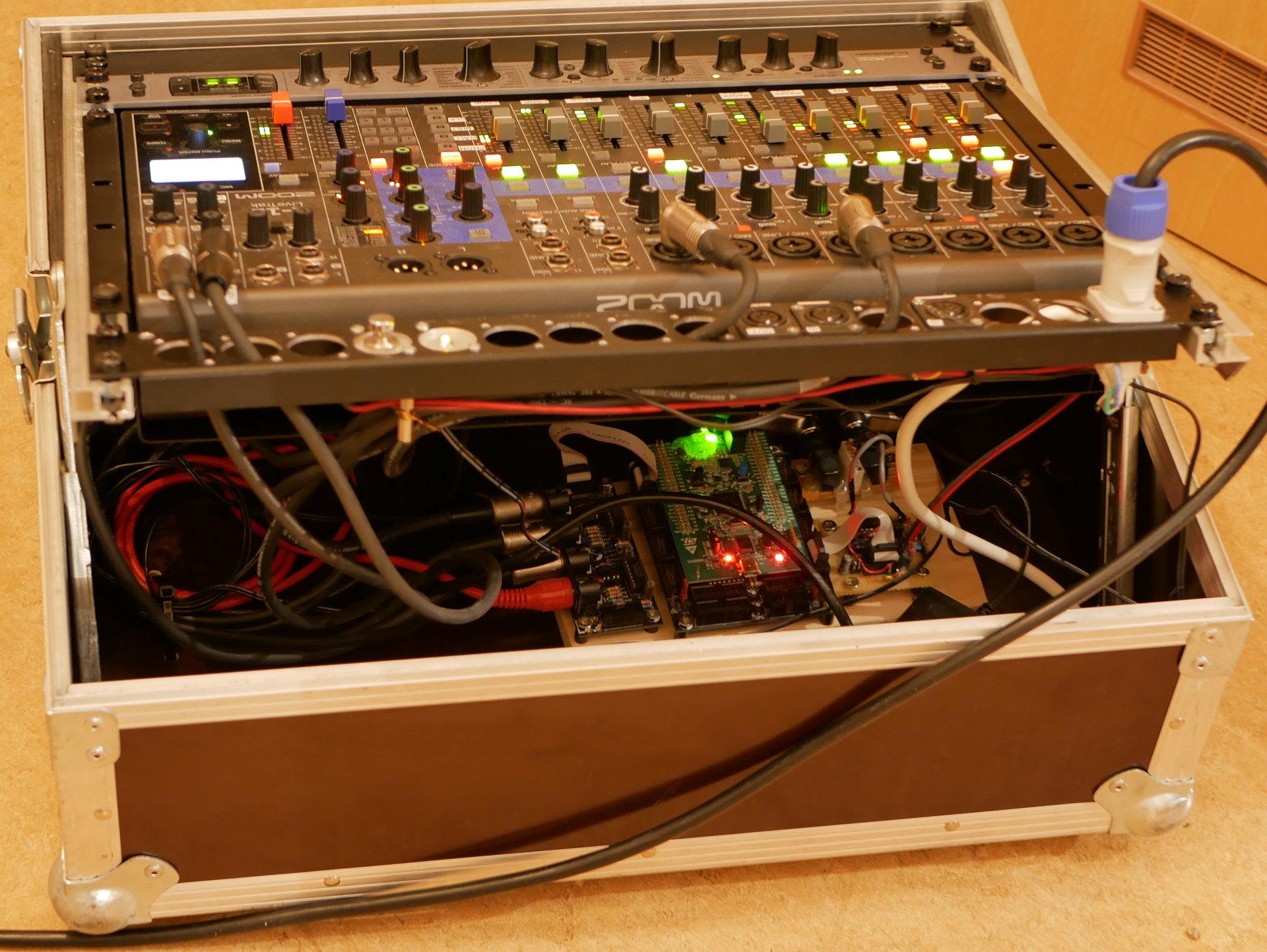Midi Stream To Audio Converter Tape Recording Studio Wiring Clk2aclk L12 Rack Backthumb636cc35
