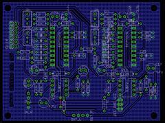 CEM3379 Stereo VCF PCB v0.3