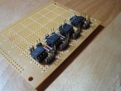 MIDI interface board