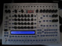 MIDIbox FM V2.0 Prototype--Fixed LED display row/column swapping