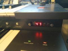 Electone FX-20 - custom memory board (not working)