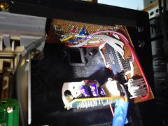 Electone FX-20 - custom memory board insides (not working)