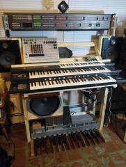 Modded Electone FX-20 - Organ with processor board