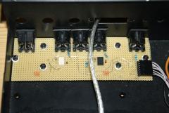 Midi Brakeout, Ganz links ist ein 8Pol Din Stecker für später Erweiterungen. (Pedale)