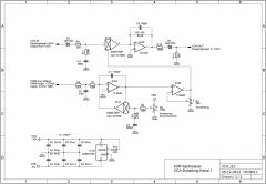 "AVR-Synthesizer ""WAVE 1""  VCA-Schematics Chanal 1"