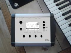 """Case from my DIY Synth """"WAVE 1"""""""