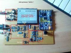 "AVR-Synthesizer ""WAVE 1"""