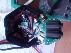 open Audio Control Modul from SoundBlaster Zx