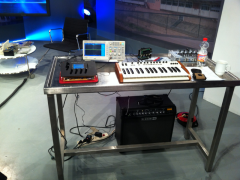 """DIY Synth """"DE:Generator"""" in TV Show"""