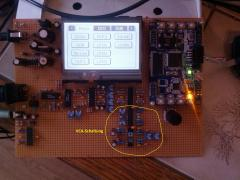 AVR Synthesizer VCA-circuit (Stereo-Version)