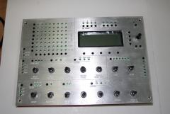 Fitting panel and board