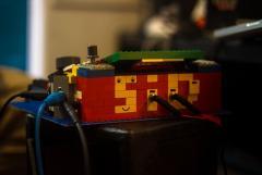 Midibox Sid LEGO back view