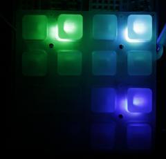 Green Cyan Blue
