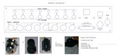 Seq V4 Backpanel inkl. Gate  + Analog